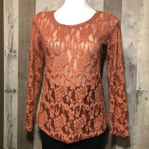 24/7 Maurices Lace Top